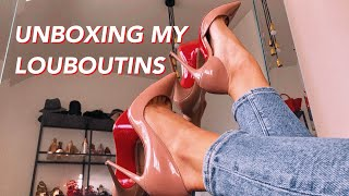 The Best Louboutin Pumps?? | UNBOXING + Tips Christian Louboutin Iriza