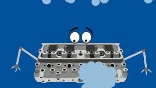 Blue Engine Smoke