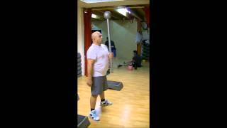 preview picture of video 'AFGS Pouillon Les Landes. Exercices fitness avec macebell et kettlebell.'