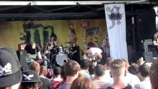 Architects - Blackblood - Live - Warped Tour 2013