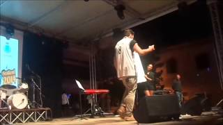 preview picture of video 'Gabri Gabra Live Super Rap Show con il pubblico di Aprilia alla festa del Patrono San michele 2014'