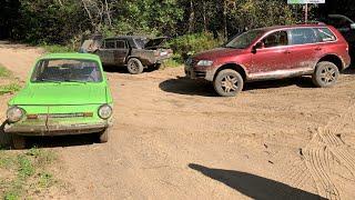 Новый Range Rover Sport, запорожец, копейка и другие на оффроуде)