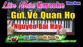 lien-khuc-gui-ve-quan-ho-karaoke-mv-cha-cha-nhac-song-thanh-ngan