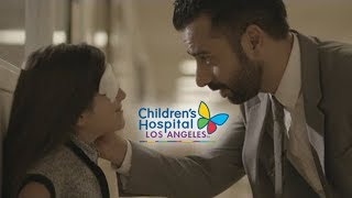 "Arsi Nami & Talia Ibrahim in Children's Hospital Los Angeles ""Healthcare in the Cloud"""