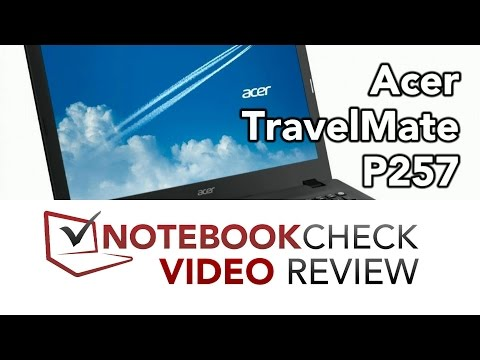 Acer TravelMate P257 (2015) Review and test results