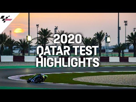 MotoGP2020 カタール公式テストハイライト動画