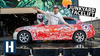 Our $1500 Infiniti G35 Sedan Gets a Junkyard Refresh