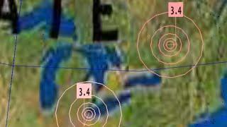 //ALERT\\Tornado Warnings Alabama/World Weather/Earthquake Update 3.4 EQ Ontario 4/22/2018