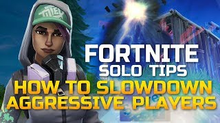 Solo Tips to WIN! Stop ALL Ramp Rushers (Fortnite Battle Royale)