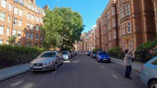 Walking In London: Around Kensington [4K Binaural ASMR]
