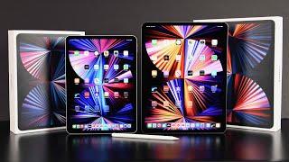 Apple iPad Pro 11 (2021) vs Apple iPad Pro 12.9 (2021): Unboxing & Review