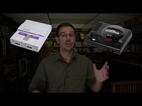 James Rolfe - Super Nintendo vs. Sega Genesis, část 1.