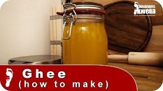 How to make Ghee | Rezept für laktosefreies Butterschmalz -Gold
