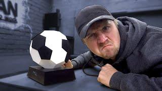 Футбольный мяч-колонка своими руками