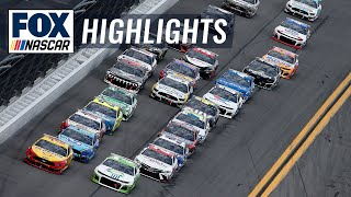 Coke Zero Sugar 400 At Daytona | NASCAR On FOX HIGHLIGHTS