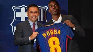 Paul Pogba Welcome To Barcelona? Confirmed & Rumours Summer Transfers 2018  HD