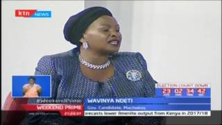Wavinya Ndeti speaks on her bid for the Machakos gubernatorial seat