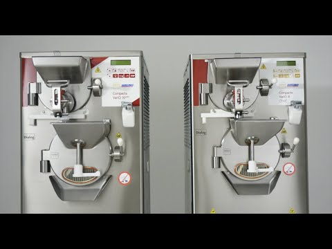 Batch Freezer with Pasteurizer Series Compacta Vario
