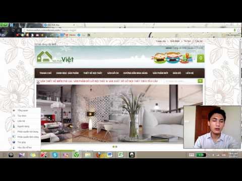 Video hướng dẫn quản trị website ngay từ trang chủ