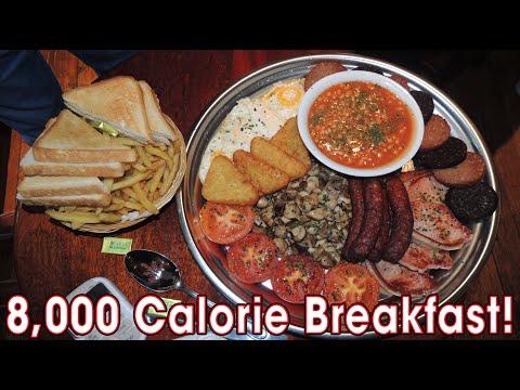 8,000 CALORIE IRISH BREAKFAST CHALLENGE!!
