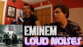 Eminem - Loud Noises REACTION!!! (Bad Meets Evil ft. Slaughterhouse)