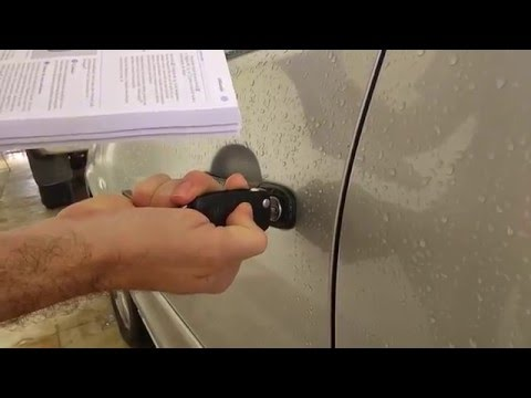 Oficial - Programando o controle do alarme do VW Polo de acordo com o manual