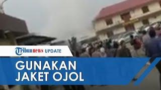 Kondisi Terduga Pelaku seusai Bom Meledak di Polrestabes Medan, Tubuh Pelaku Tampak Tak Utuh