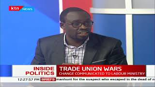 Inside Politics: Trade Union War.