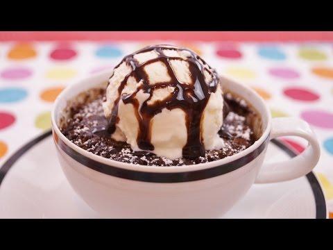 Chocolate Mug Cake Recipe: Easy! 5 Minute Cake! How To: Diane Kometa - Dishin With Di  # 149