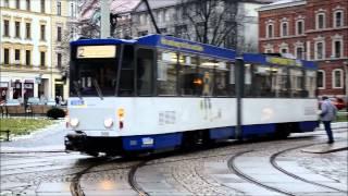 preview picture of video 'Tramwaje Görlitz / Straßenbahnen in Görlitz 2015'