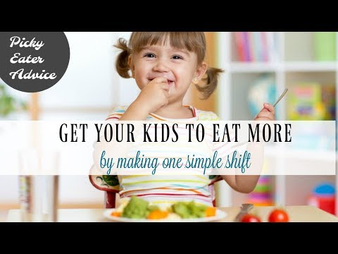 Getting Your Child To Eat More At Dinner