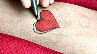 New Heart ❤️ Tattoo Design   Amazing Tattoo Idea