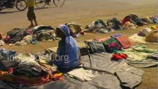 Used Clothes Market in Jamnagar, Gujarat