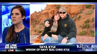 • Taya Kyle Reacts to the Film 'American Sniper' • Chris Kyle • Kelly File • 1/12/15 •