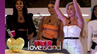 A raunchy game of beer pong gets tongues wagging... literally | Love Island Series 6