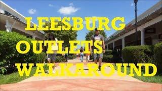 Leesburg Corner Premium Outlets Walkaround