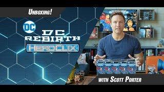 DC Comics HeroClix Rebirth Unboxing Part 1
