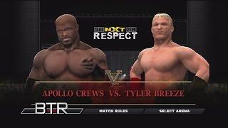 WWE NXT Takeover Respect Predictions Apollo Crews vs Tyler Breeze
