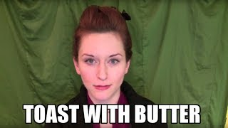 Toast With Butter ~ comedy short story | Amy Walker