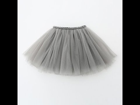 STYLISH Short net umbrella skirt cutting and stitching in a simple method step by step