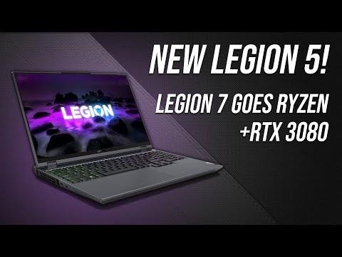 "External Review Video fbIjEHlMX6w for Lenovo Legion 5 15"" Gaming Laptop w/ AMD (2021, 15ACH-06)"