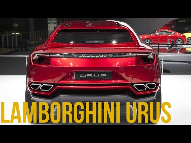 Lamborghini URUS Interior and Exterior