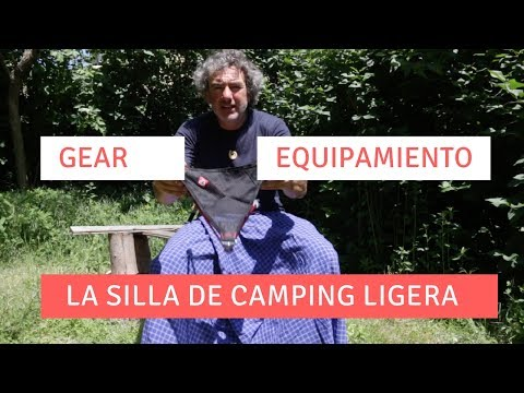 La silla de camping ligera