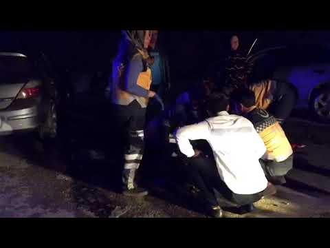 Sakarya'nın Kaynarca ilçesinde meydana gelen trafik kazasında 4 kişi yaralandı.