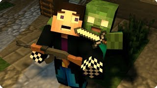 ПРОВАЛ ОПЕРАЦИИ?! ПОБЕГ ИЗ ПЛЕНА! ДЕНЬ 8. ЗОМБИ АПОКАЛИПСИС В МАЙНКРАФТ! - (Minecraft - Сериал)