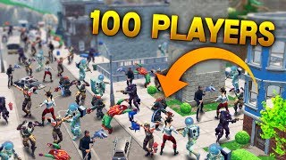 100 PLAYERS IN TILTED TOWERS..  Fortnite Funny and Best Moments Ep.88 (Fortnite Battle Royale)