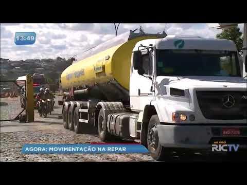 800 mil litros de combustíveis devem chegar escoltados à postos de Curitiba