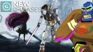 Child of Light Vita, New Guacamelee!, Gundam Reborn - New Releases
