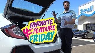 2017 Honda Civic Hatchback EX - 5 Favorite Features