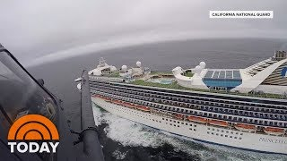 Princess Cruises confirm at least 21 people have tested positive for the coronavirus aboard the Grand Princess ship. NBC's Steve Patterson and Hans Nichols report for Weekend TODAY, and NBC News science contributor Joseph Fair joins for analysis. » Subscribe to TODAY: http://on.today.com/SubscribeToTODAY » Watch the latest from TODAY: http://bit.ly/LatestTODAY  About: TODAY brings you the latest headlines and expert tips on money, health and parenting. We wake up every morning to give you and your family all you need to start your day. If it matters to you, it matters to us. We are in the people business. Subscribe to our channel for exclusive TODAY archival footage & our original web series.    Connect with TODAY Online! Visit TODAY's Website: http://on.today.com/ReadTODAY Find TODAY on Facebook: http://on.today.com/LikeTODAY Follow TODAY on Twitter: http://on.today.com/FollowTODAY Follow TODAY on Instagram: http://on.today.com/InstaTODAY Follow TODAY on Pinterest: http://on.today.com/PinTODAY  #Coronavirus #TodayShow  Coronavirus: 21 People On Grand Princess Test Positive For COVID-19 | TODAY